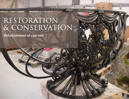Refurbishment of cast iron